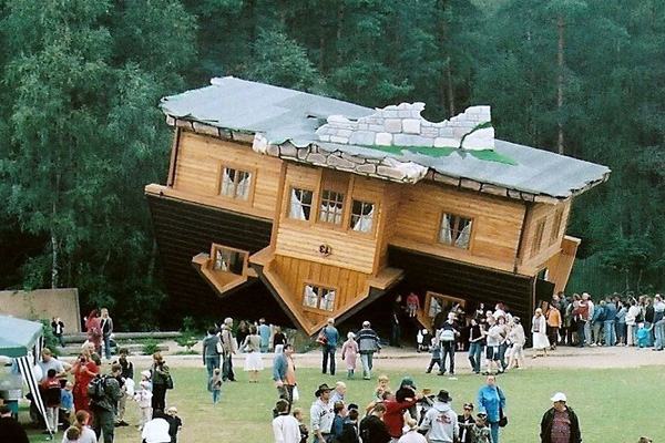 House Built Upside Down Creative Home Designs
