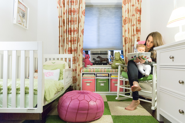 Creative Storage In New York Nursery