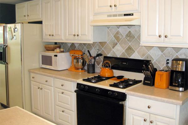 Painting Kitchen Tiles: Easy Kitchen Ideas