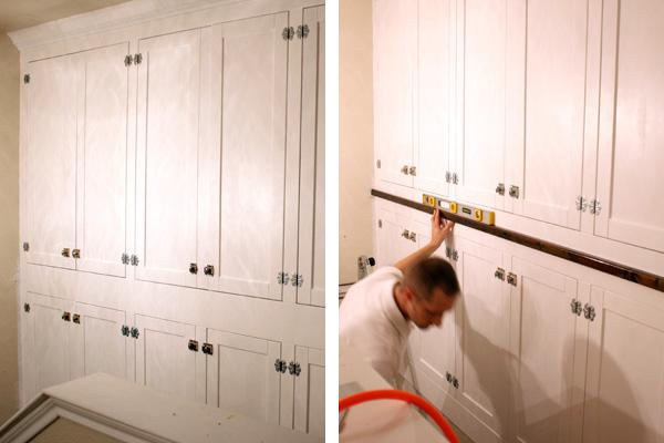 Adding Flooring To Cabinets