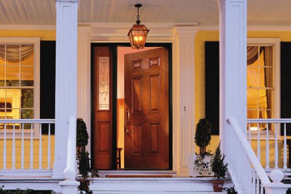 Home Entrance Door Fibreglass Entrance Doors
