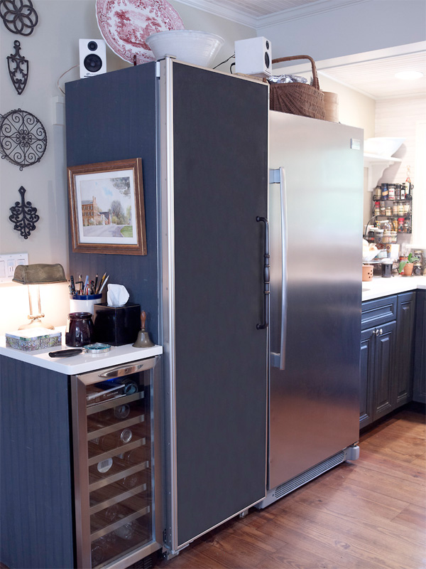 Chef Plummer S Large Refrigerator Is Great For Storing Soup Stocks