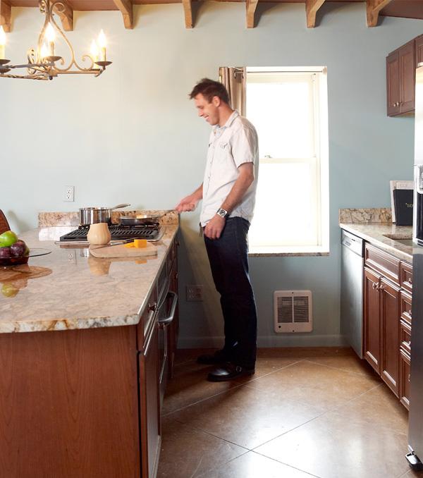 Chef Johnson In His Kitchen