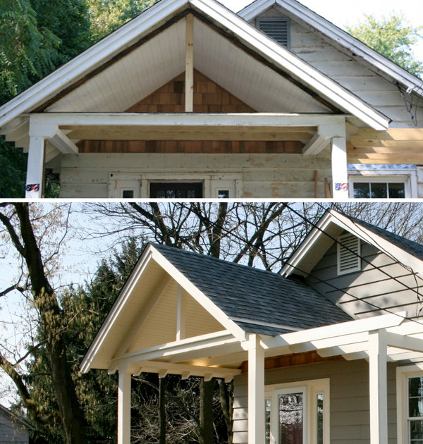 Home Exterior Renovation From Tired To Stylish Siding