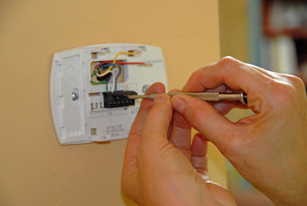 Installing A New Thermostat Wiring