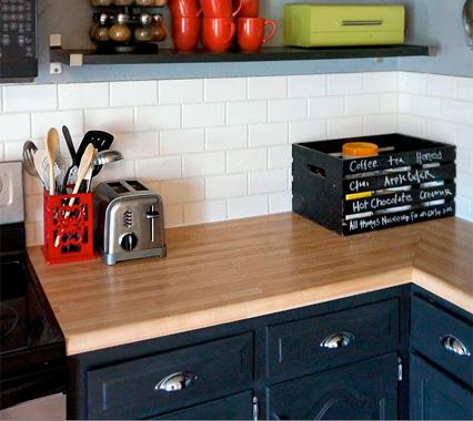 Laminate Butcher Block Kitchen Countertops : Laminate Kitchen Countertops HouseLogic Kitchen Remodeling Tips