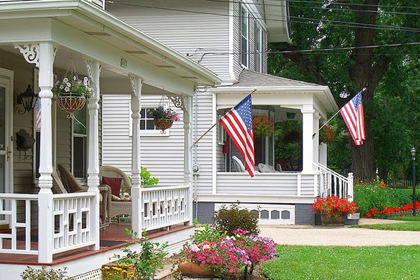 Relatively Common Places to Display the American Flag - Collins Flags Blog AS47