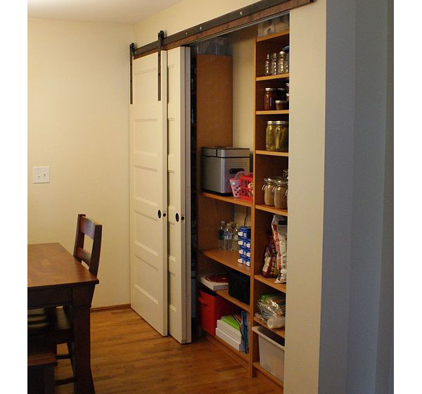Pantry Ideas With Sliding Doors: Pantry Organization Ideas