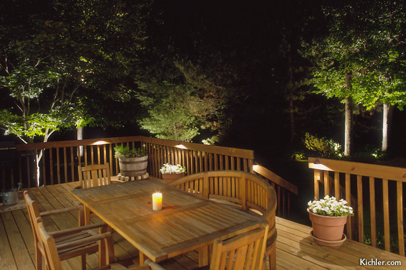 Patio Amp Deck Lighting Ideas