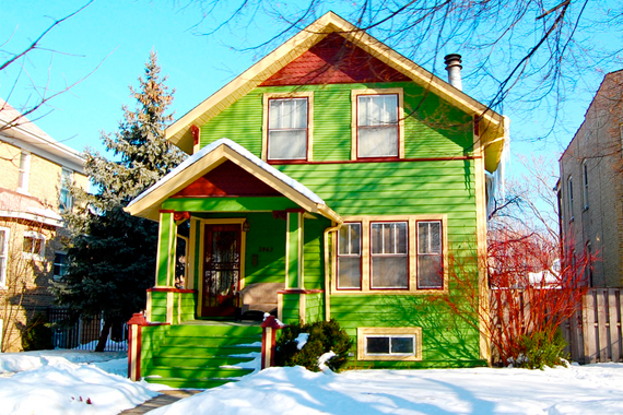 9 Wacky Exterior Paint Jobs That Will Shock You