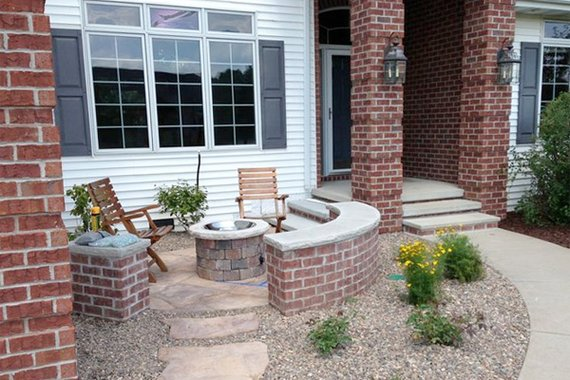 Front Yard Patio Design Pictures: Small Front Yard Patio Ideas