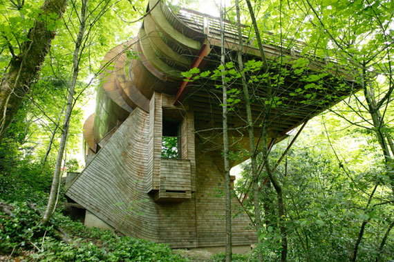 Real-existence Houses That Look Like They Belong within the Shire - Hobbit Houses Inspired