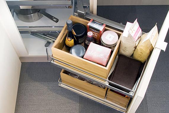 Kitchen Storage Ideas | Corner Kitchen Cupboard Solutions