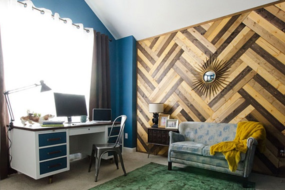 Wooden diy wood paneling pdf plans - Modern wood wall paneling ...
