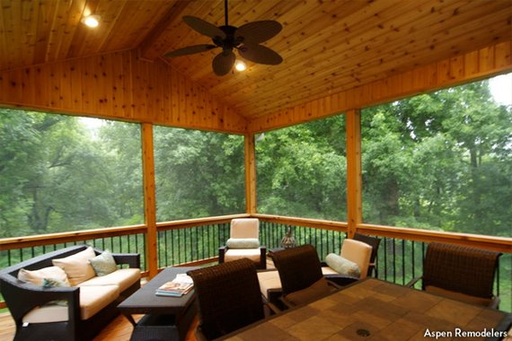 Screen Porch Pictures Screened In Porch Ideas