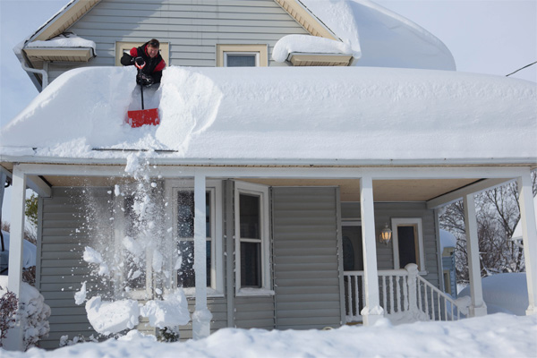 How Do You Remove Snow From Your Roof Snow Removal