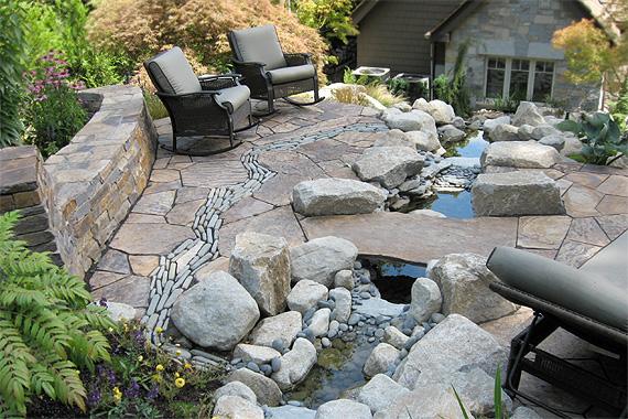 Stone Patio Ideas Pictures Houselogic