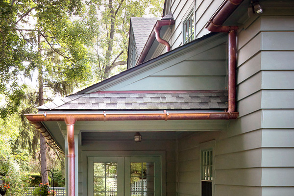 Types Of Gutters Rain Gutters Types Cost Of Gutters