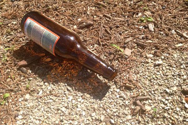 Drought beer bottle